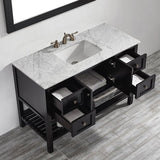 "Caldwell 48"" Single Bathroom Vanity Set with Mirror By Beachcrest Home"