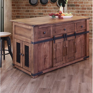 Rivard Kitchen Island By Loon Peak