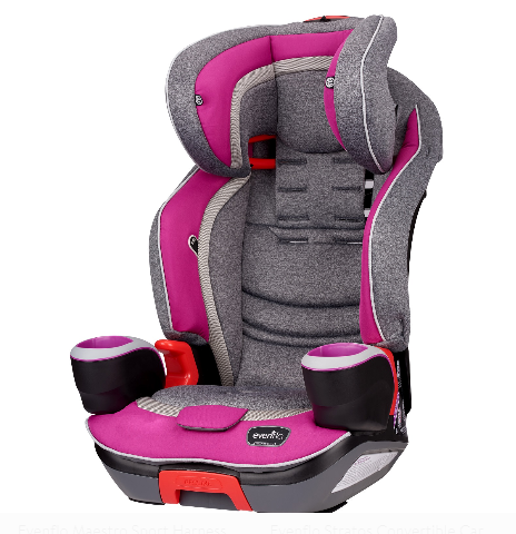 Evenflo Platinum Evolve 3-In-1 Combination Booster Car Seat, Dreamer - Prolific Compass