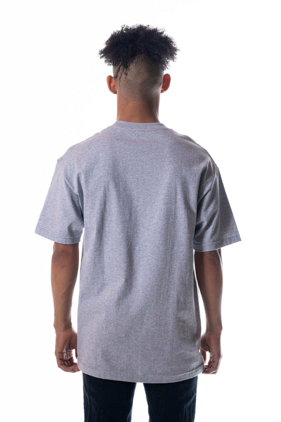 TS6000-HEATHER Colors | Men's Heavy Weight Open-End SS Tee