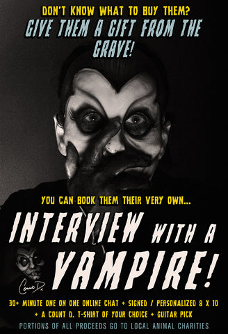 "Count D. - Meet & Greet ""Interview With A Vampire"""