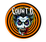 Count D. Party Man Sticker