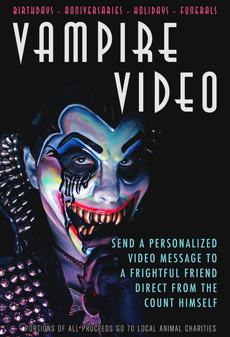 Count D. - Vampire Video Message