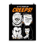 All My Friends Are Creeps Poster