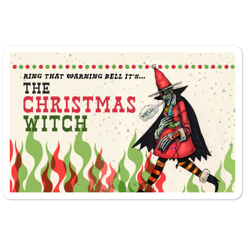 The Christmas Witch Sticker