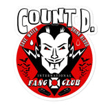 Count D. Fang Club Sticker