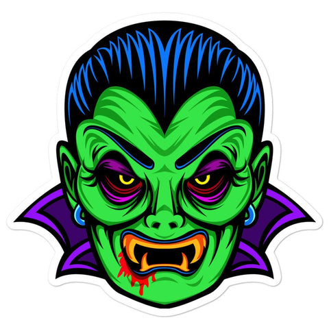 Count D. Sticker (Green)