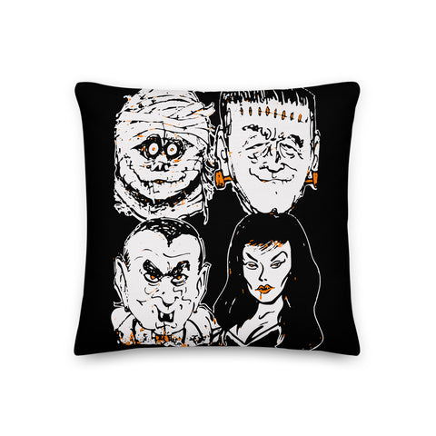 All My Friends Are Creeps Pillow