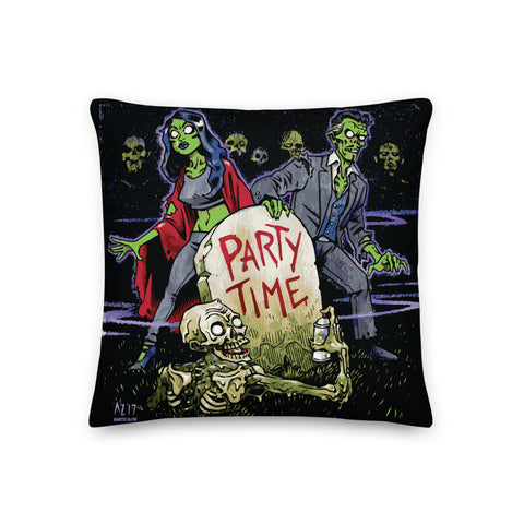 The Haxans Party Time Pillow