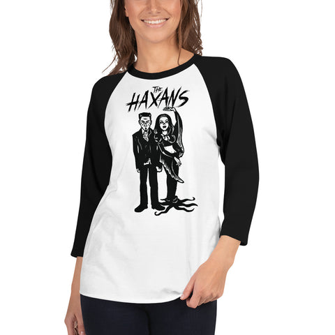 The Haxans Deadly Duo Raglan