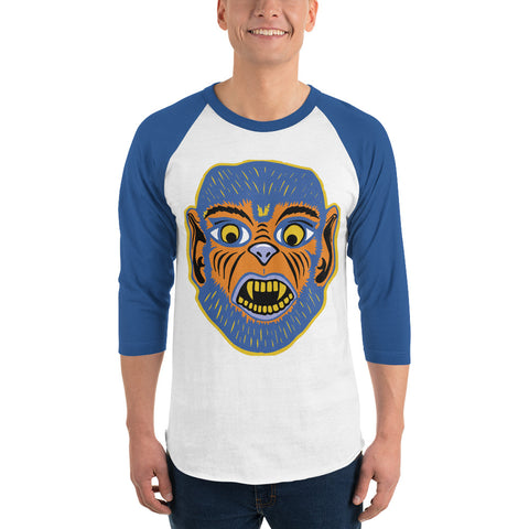 Party Monster Wolfman Raglan Shirt