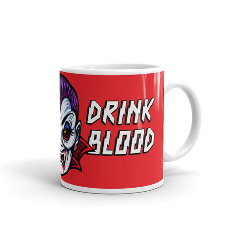 Count D. Save Water Drink Blood Mug