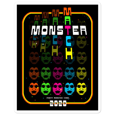 Monster Match Vintage 2020 Sticker