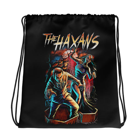 The Haxans Zombies Drawstring Bag