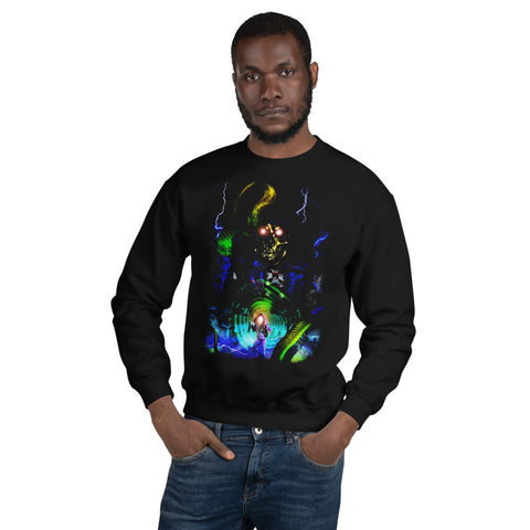HA110WE3N -  Snake Wizard Sweatshirt