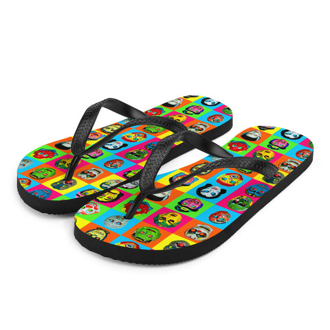 Party Monster Flip-Flops