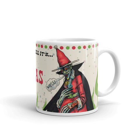The Christmas Witch Mug