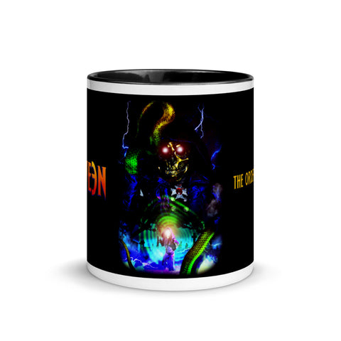 HA110WE3N - Golden Skull Snake Wizard Mug