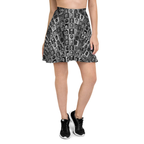 Party Monster B/W Skater Skirt