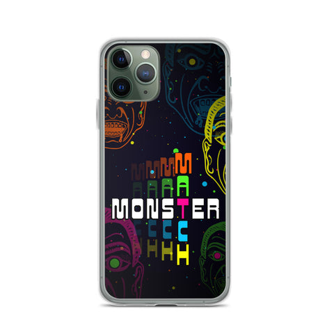 Monster Match iPhone Case