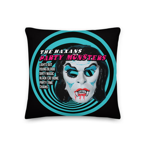 The Haxans Side A/Side B Pillow