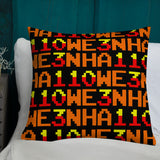 HA110WE3N - Snake Wizard Premium Pillow