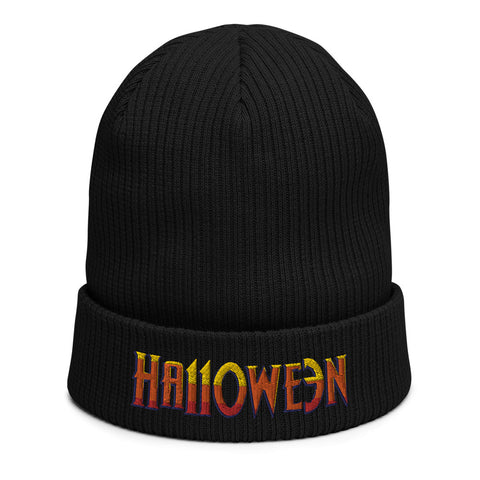 HA110WE3N - Logo Black Beanie