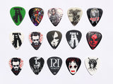 Count D. Guitar Picks 15 pc set