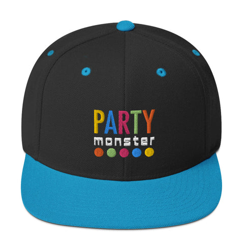 Party Monster Snapback Hat