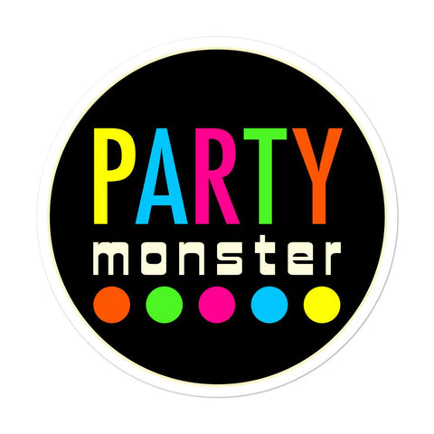 Party Monster Sticker