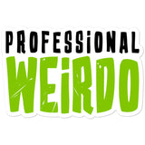 The Haxans Professional Weirdo Sticker
