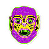 Party Monster Wolfman Sticker