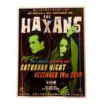 The Haxans Signed First Show Poster