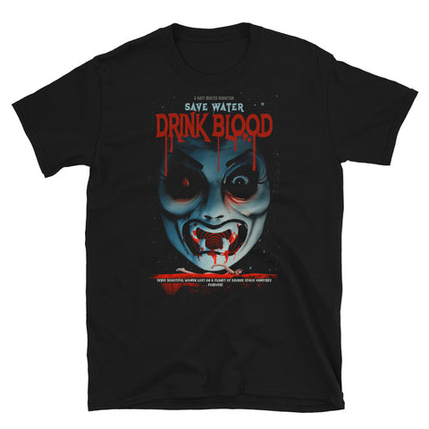 "Count D. ""Save Water Drink Blood Part 1"" T-Shirt"