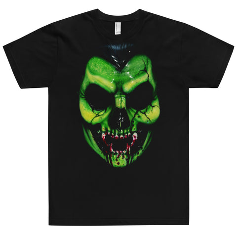 Count D. Green Skull T-Shirt