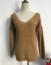 Load image into Gallery viewer, Amanda Low Back Sweater