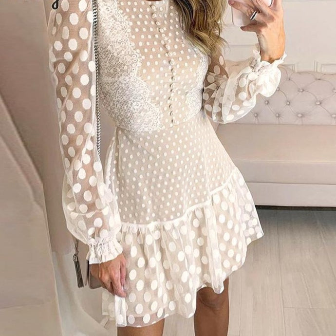 Arielle Polka Dot Dress