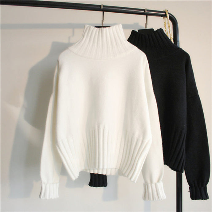 Turtleneck Oversized Sweater