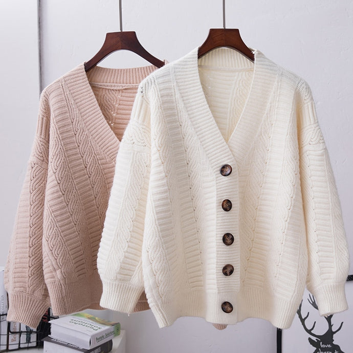 Milan Button Cardigan