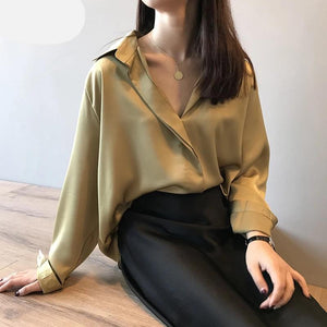 Marrakesh Satin Silky Blouse