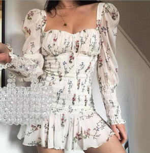 Magic In You Floral Print Dress