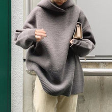 Load image into Gallery viewer, Turtleneck Oversized Sweater