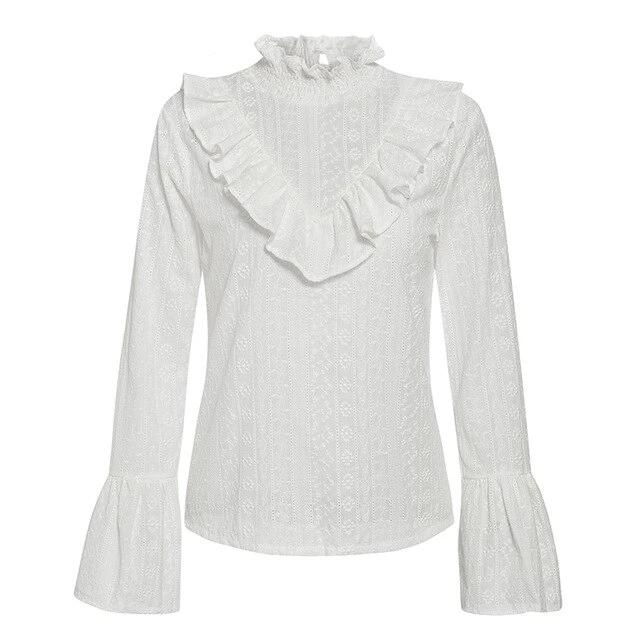 Dreaming of You Ruffle Blouse