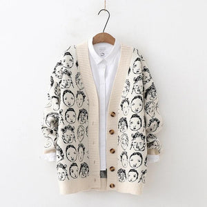 Many Faces Cardigan