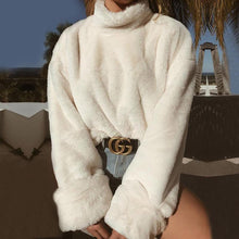Load image into Gallery viewer, Aspen Plush Turtleneck Sweater
