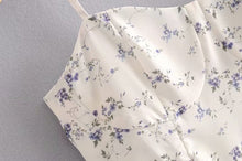 Load image into Gallery viewer, Forget Me Not Floral Dress