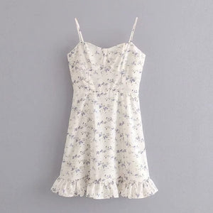 Forget Me Not Floral Dress