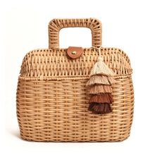 Load image into Gallery viewer, Havana Rattan Bag