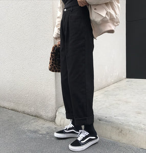 The Blogger Straight Cuff Pants