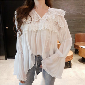 Bella Lace Blouse